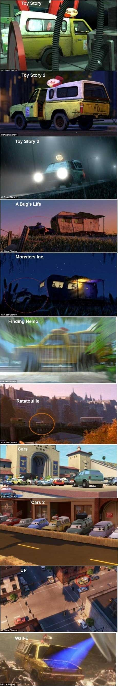 Well played Pixar, well played...