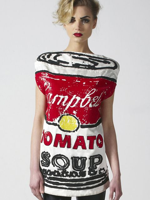 .: Pop Art, Tomatoes Soups, Interesting Artworks, Campbell Soups, Wearable Artworks, Art Fashion, Popart, Andy Warhol, Rodnik Bands