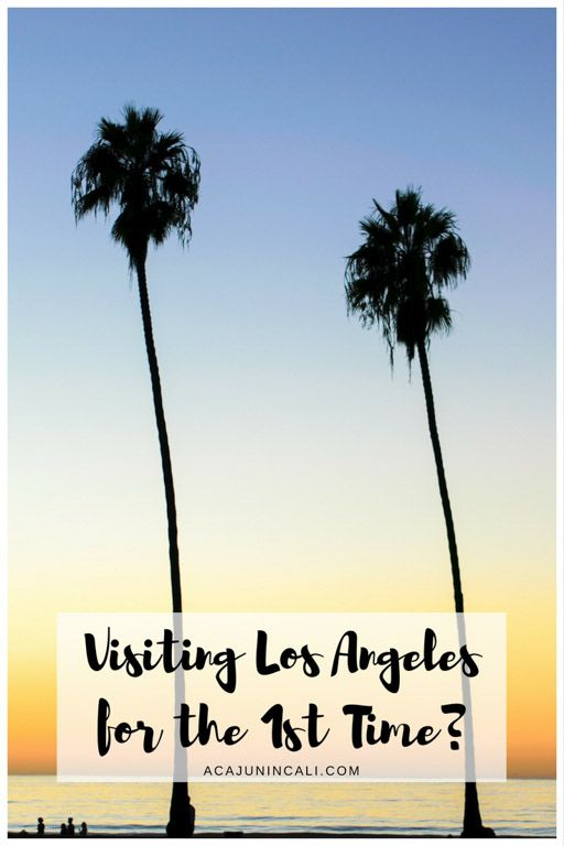 Los Angeles is home to more than just Hollywood! Find out which Los Angeles attractions you should see when visiting Los Angeles for the first time!