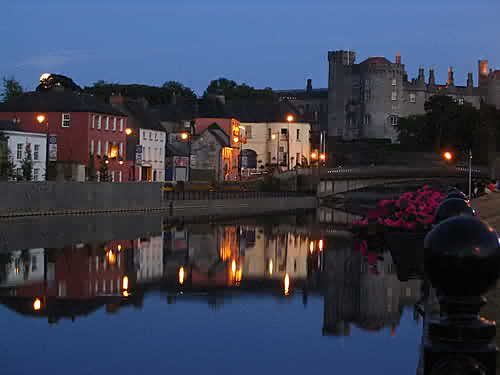 Lovely town of Kilkenny with the castle to the right -- County Kilkenny, Ireland. Really loved this place!