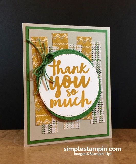 "A ""get'er done"" Thank You! - Simple Stampin"