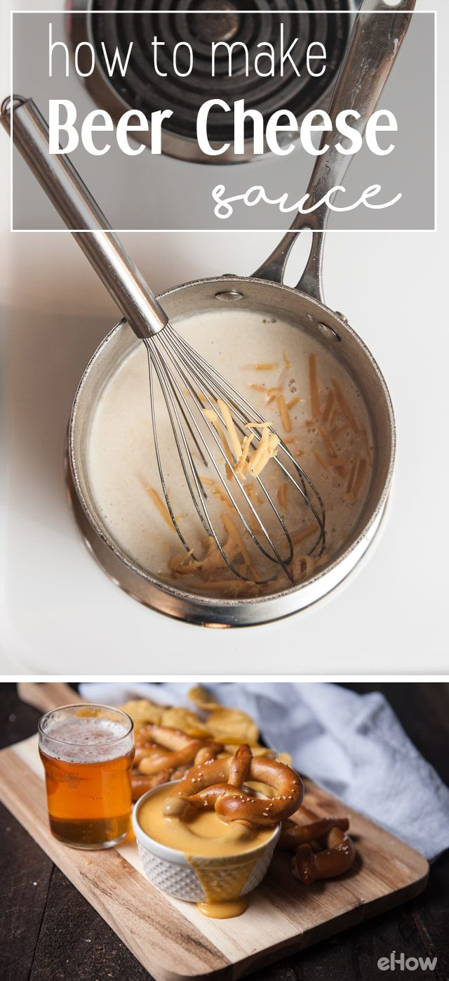 Beer cheese sauce is a delicious way to amp up your dip for parties (or even to pour over nachos!). Plenty of flavor and includes one unexpected ingredient that will be sure to impress! Recipe here: http://www.ehow.com/how_12343112_make-beer-cheese-sauce.html?utm_source=pinterest.com&utm_medium=referral&utm_content=freestyle&utm_campaign=fanpage