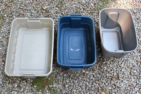 DIY Compost Worm Bin