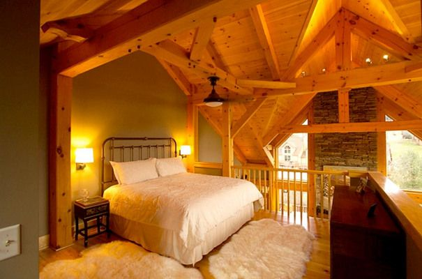 Photos of Timber Frame Homes | Green Building
