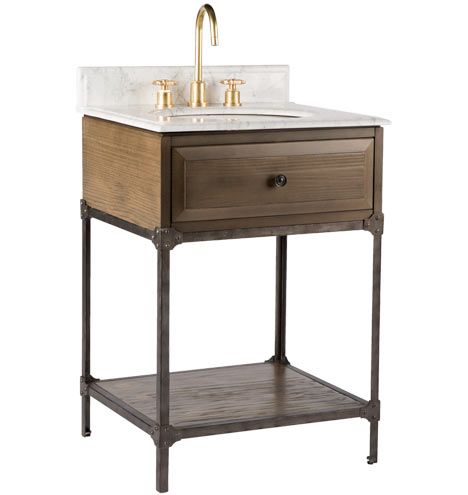 Industrial Sink Vanity 24in Rejuvenation Bathroom