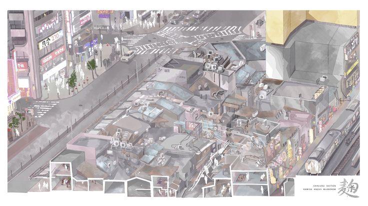 Shinjuku Section by Hamish Angus McAndrew