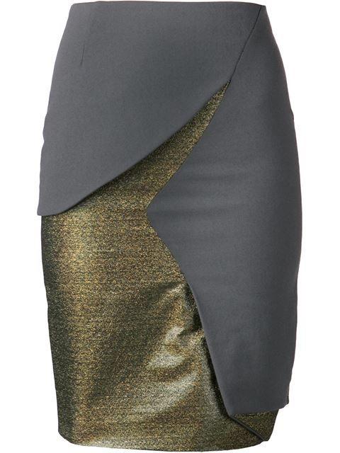 Купить Matar юбка с золотистой панелью в H. Lorenzo Farfetch предлагает товар из лучших независимых бутиков со всего мира.