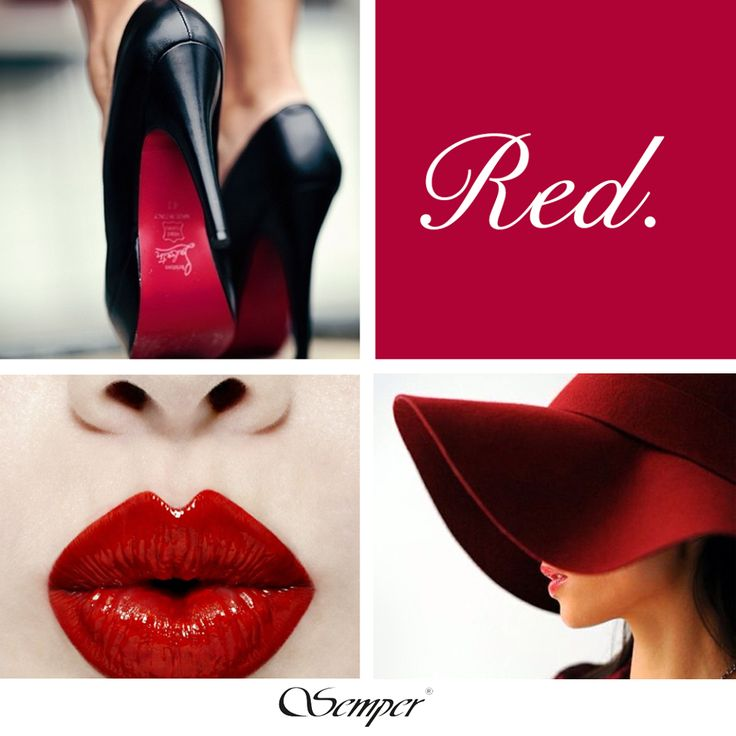 #red #lips #highheels #woman #fashion