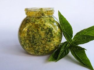 Cooking For Busy Mums: Homemade Homegrown Basil and Cashew Pesto