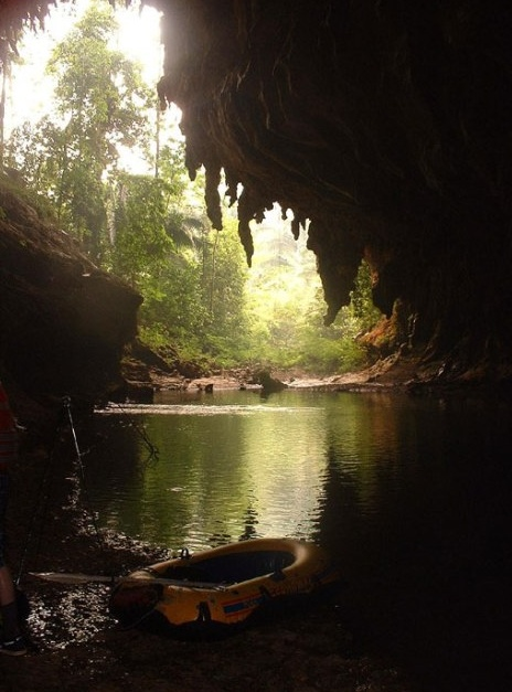 Nacimiento cave great for tubing Candelaria Caves - Raxrujá, Chisec - Alta Verapaz Guatemala http://guatemala.bookitnow.com/