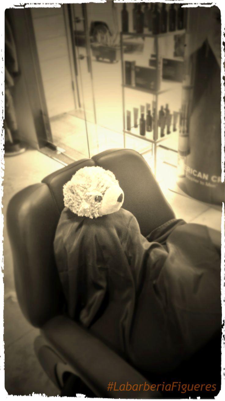 Visita d'en Lavi a #LabarberiaFigueres #Barbershop #Figueres #Seal
