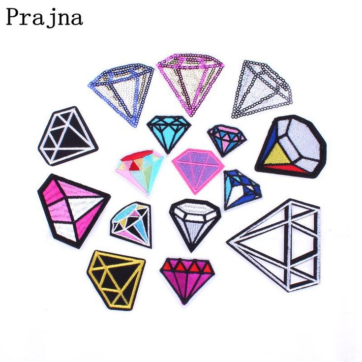Cheap Patches, Buy Directly from China Suppliers:Prajna Patches Made Of Cloth Applique Colorful Diamond Blue Black Sequin Iron Or Sewing Patch For Fashion Woman Girl Dress DIY