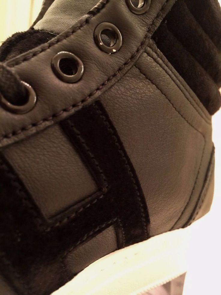 Black Huf Soto Mid Premium Exclusive Shoe Casual Skate Supreme T-Shirt Socks $70  | eBay