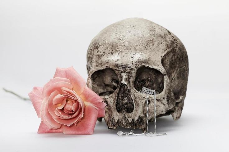 Stem Rose Pendant