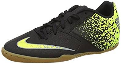 Nike Bombax Ic, Scarpe da Calcio Uomo, Multicolore (Black/Cool Grey-Volt), 45 EU