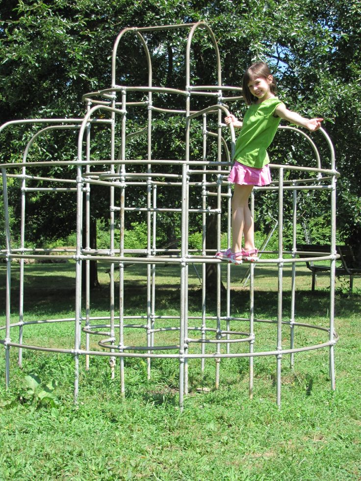 Monkey Bars - loved climbing to the top