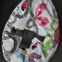 Baby Sitzsack mit Gurt