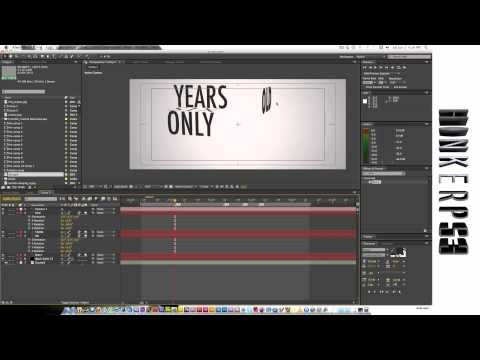 Camera tool. Adobe After Effects tutorial. Kinetic Typography.