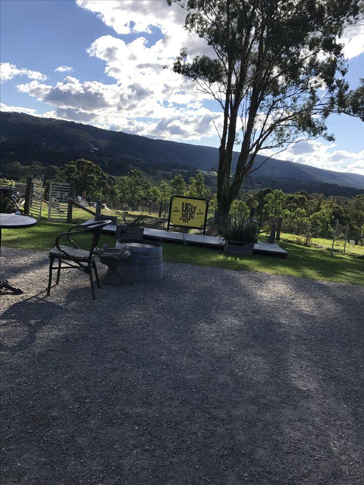 Kurrajong Bark Park with Ugly Mug Cafe, Blue Mountains, NSW