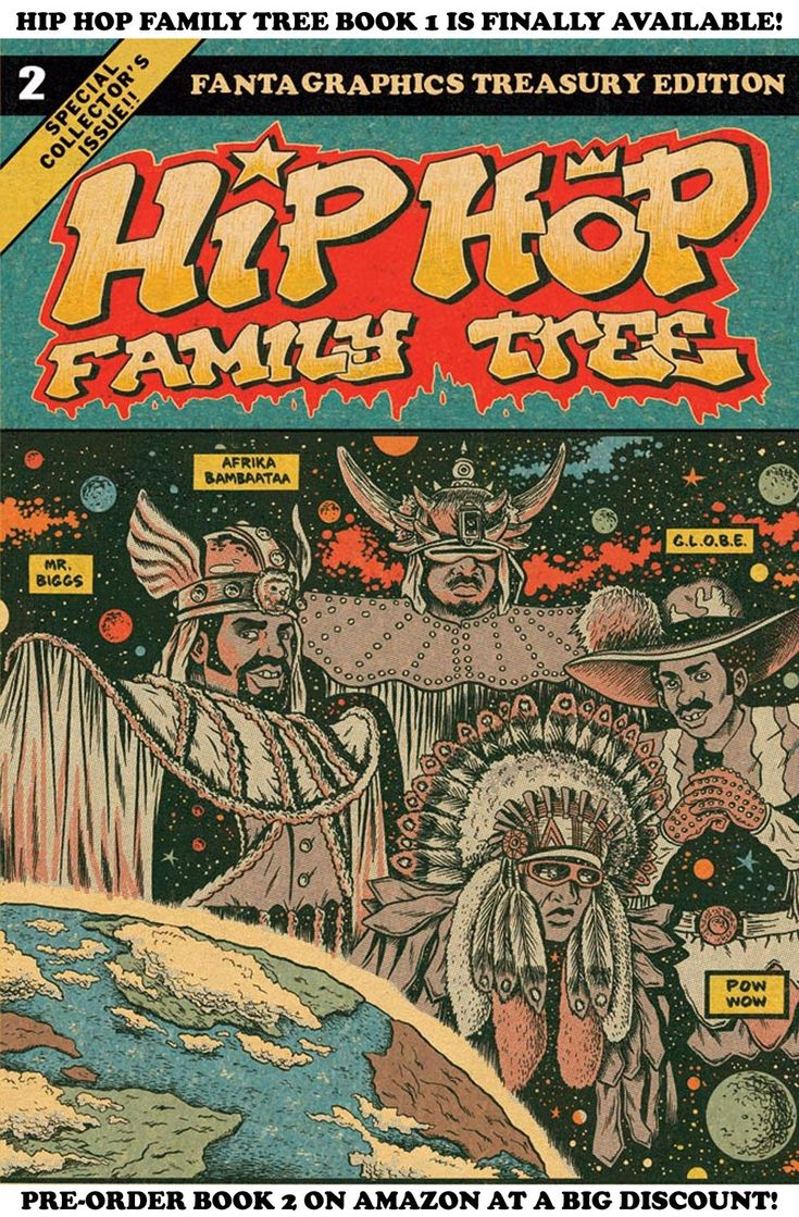 The Creator of 'Hip Hop Family Tree' Talks Rap History and Comics | VICE | United States