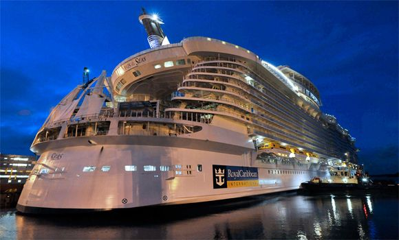 kapal pesiar terbesar di dunia ms allure of the seas