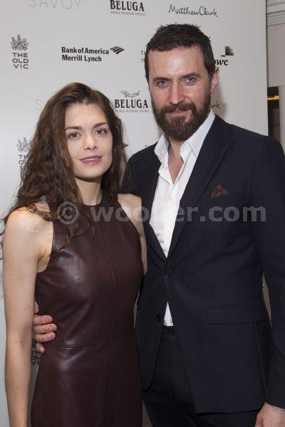 Richard Armitage and Samantha Colley