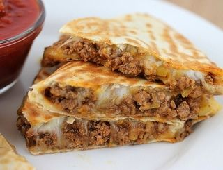 BEST Beef Quesadillas