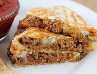 BEST Beef Quesadillas