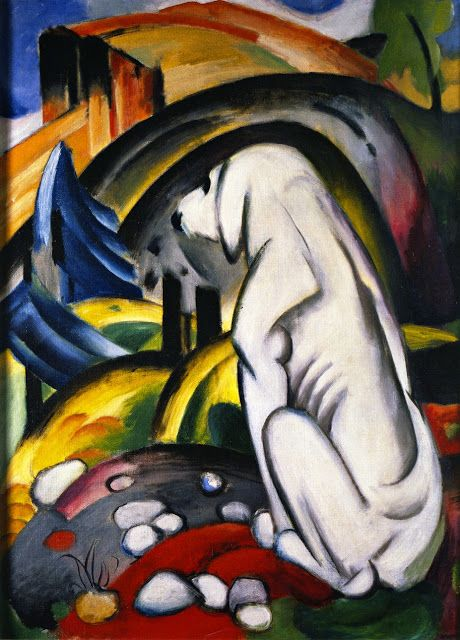 Franz Marc - Dog Before the World