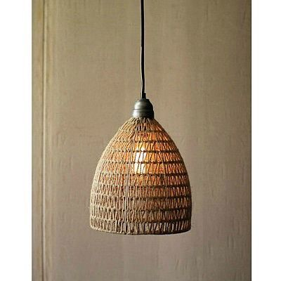 Jute Weave Pendant Available Through Clayton Gray Home