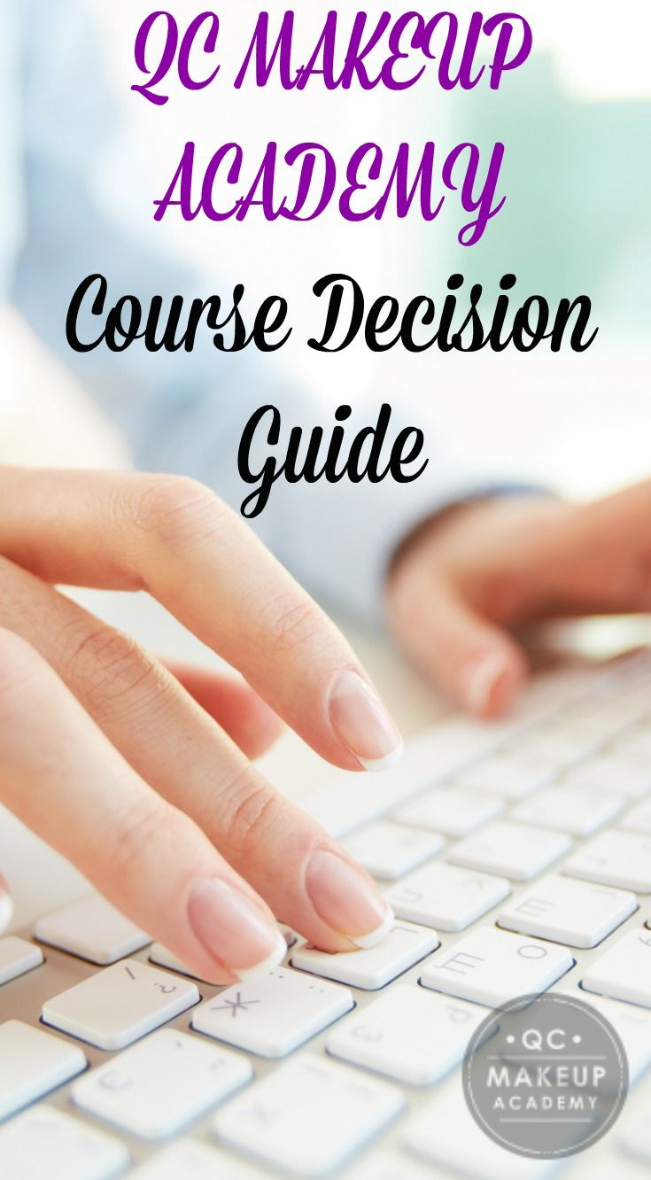 Are you considering taking one of our online makeup courses? Before you do, be sure to check out our Course Decision Guide to get a better idea of which course would be ideal for you!  #QCMakeupAcademy #makeupschool #makeup #makeupartist #mua #promakeup #studentmua #beauty #IGbeauty #beautyschool #student