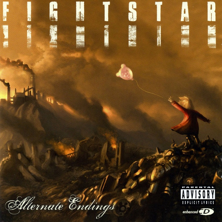 I love all the fightstar albums! Their artwork is always so beautiful, too. :-)