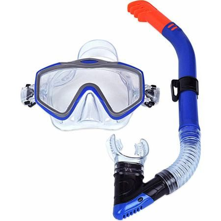 Dolfino Adult Mask and Snorkel Set - Walmart.com