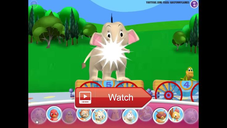 😸 Mickeys Animal Video Parade Mickey Mouse Clubhouse Game 🐶 🎠 🐘 🐧