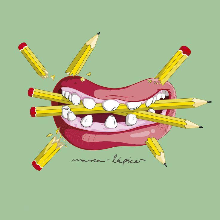 Masca-lápices. Fosfenos.