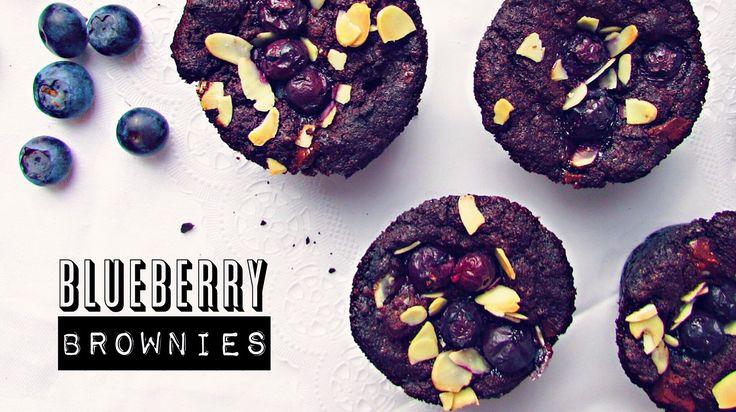 Dokonalá kombinace čokolády a borůvek v jednoduchém receptu.