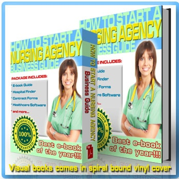 How To Start Your Own Nursing Agency is an extensive guide to start your own Nursing Agency, Nurse Registry, Medical Staffing Agency, or become an Independent Nurse Contractor / Independent RN Contractor. Establish a registry business. Start your self-emp