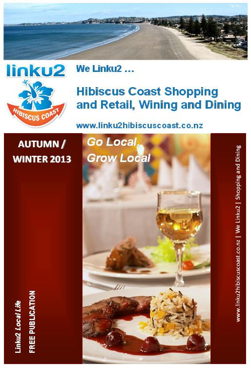We linku2 shopping and dining options for the Hibiscus Coast including Orewa, Whangaparaoa and Silverdale