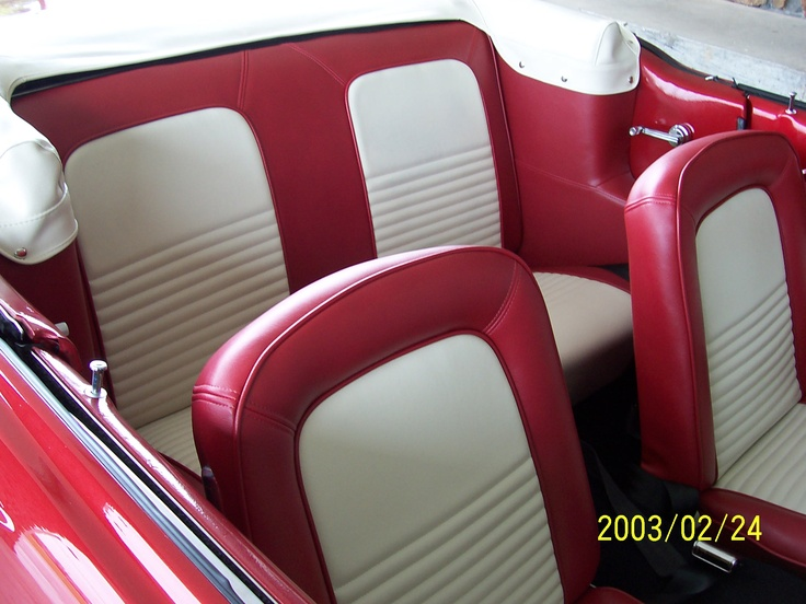 classic two tone auto upholstery classiccars ashley upholstery american muscle car. Black Bedroom Furniture Sets. Home Design Ideas