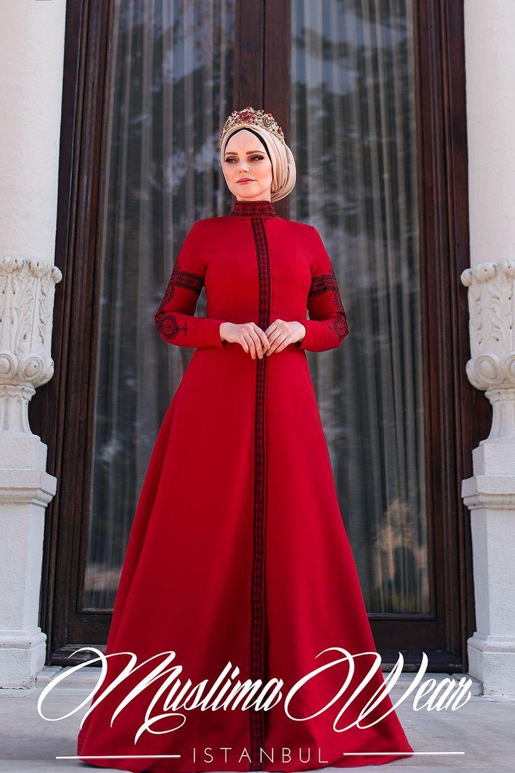 Red Black Mehendi Dress