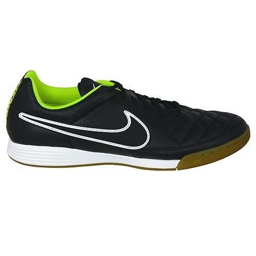 Sepatu Futsal Nike Tiempo Genio Leather IC 631283-017 memiliki tekstur upper yang baik sehingga dapat mengoptimalkan ketika mendapat sentuhan dari bola. Diskon 15% sepatu ini dari Rp 799.000 menjadi Rp 679.000.