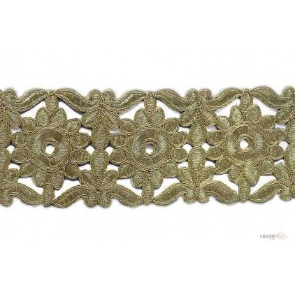 Embroidery Cutwork Lace - 012248 Rs1,462.50 / 9 Meter Roll