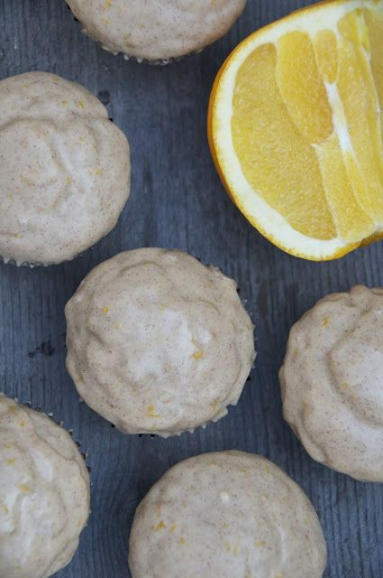 Orange Cinnamon Glazed Donut Muffins | Things To Eat- Muffins | Pinte ...