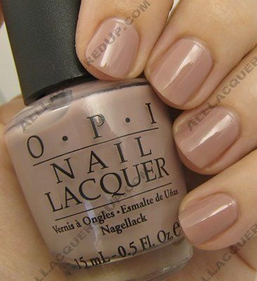 I had a dream last night that I bought a light tan OPI nail polish.... Must mean I need to go buy some ASAP