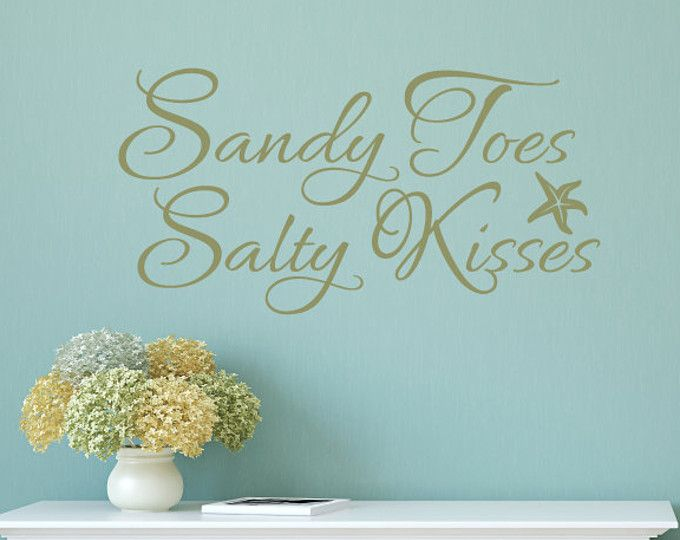 Best Beach Wall Decals Ideas On Pinterest Beach Style Wall - Wall decals beach quotes