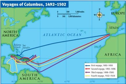Map Of Columbus Route Yahoo Image Search Results Ocean Currents