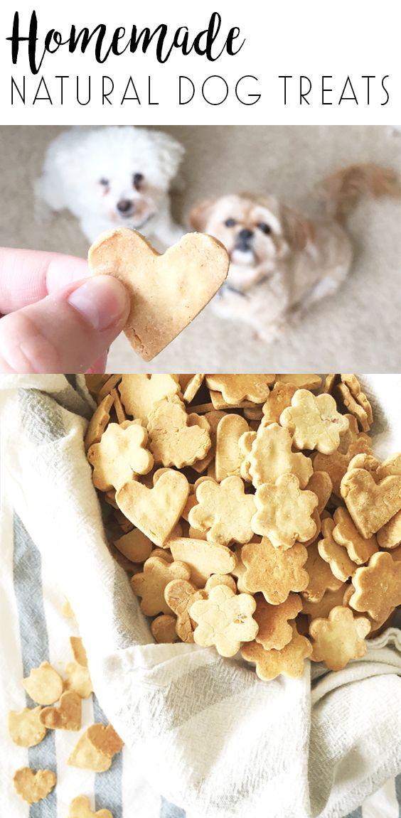 HOMEMADE COCONUT OIL + PEANUT BUTTER DOG TREATS | Dog food ...