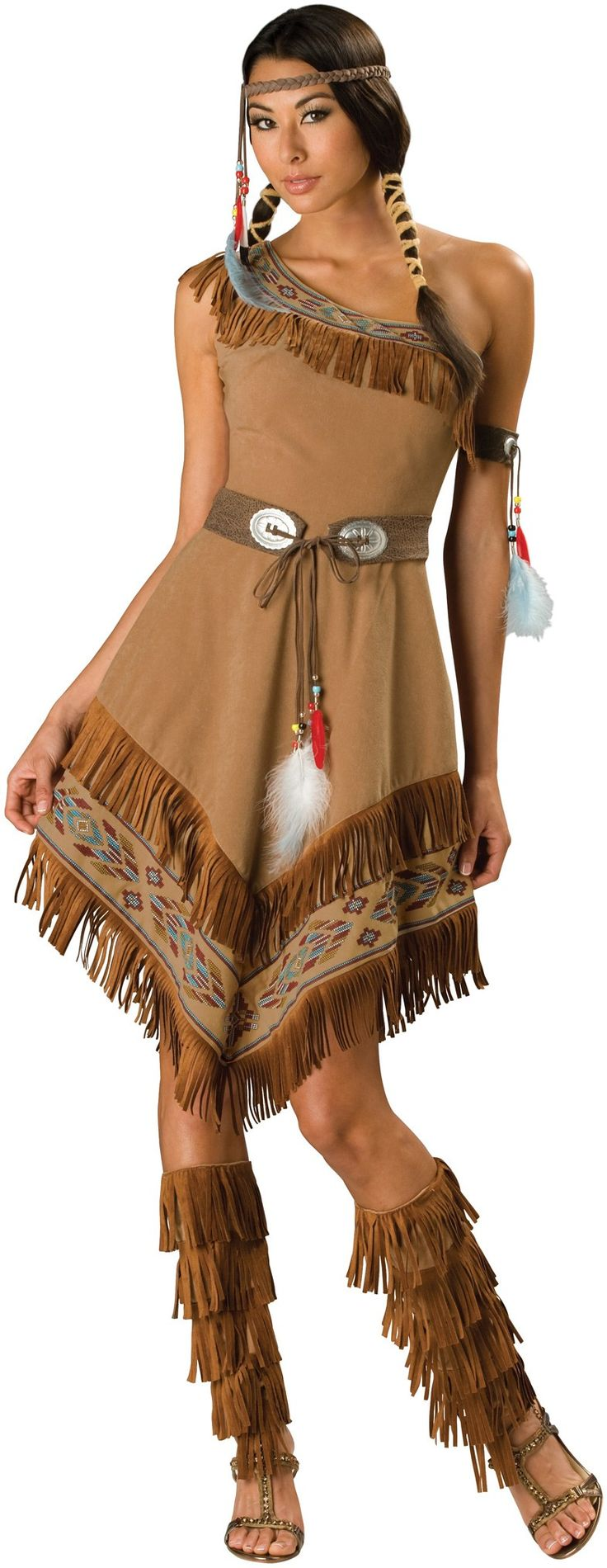Indian Maiden Adult Costume - Large