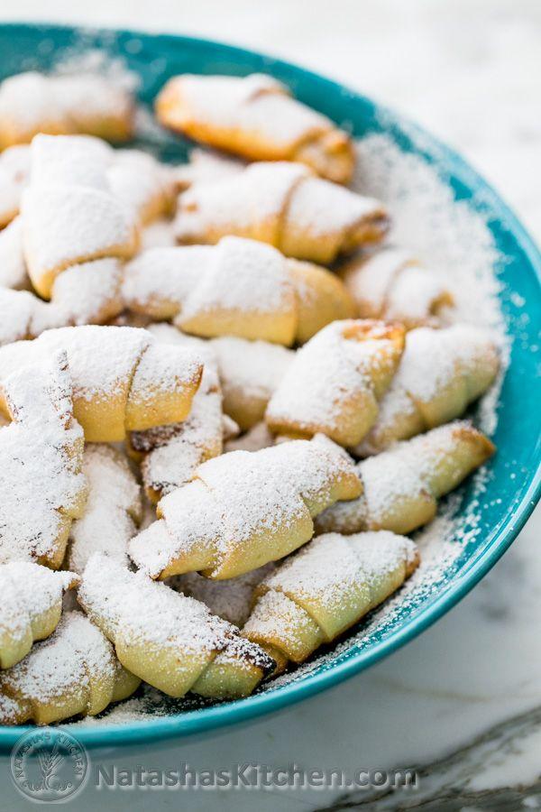 Russian Rugelach i.e. Mom's famous Rogaliki recipe