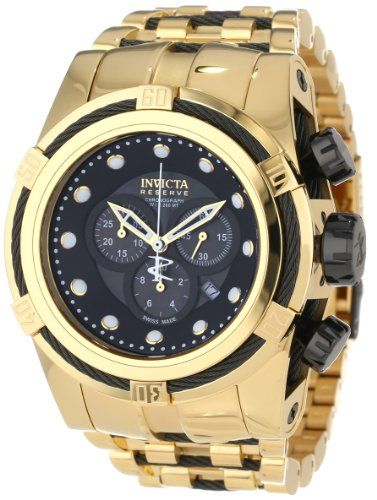 Invicta Mens 12753 Bolt Reserve Chronograph Black MotherOf -- Read more reviews of the product by visiting the link on the image.